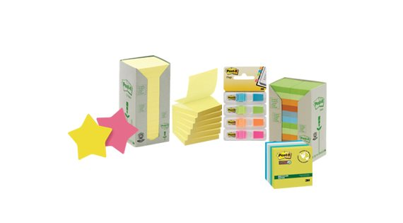 Self-Adhesive Notes and Page Markers