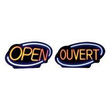 """Enseigne DEL """"Open"""""""