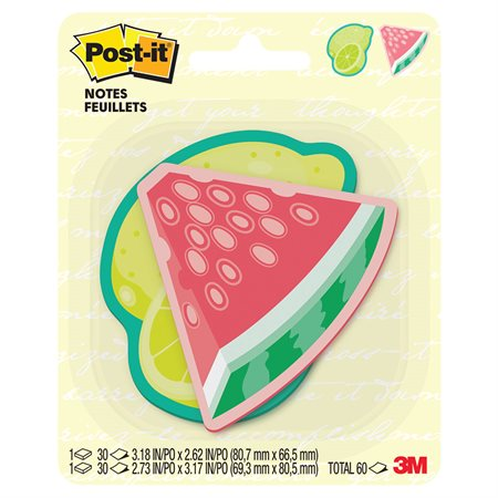 POST IT LEMON / W.MELON ASS.CARD