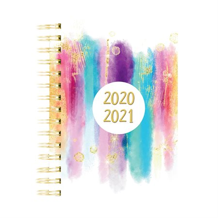 Stardust monthly  /  weekly planner (2020-2021)