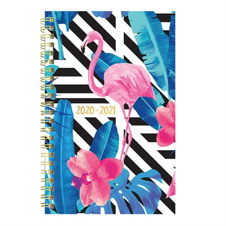 Flamingo Weekly  /  Monthly Planner (2020-2021)