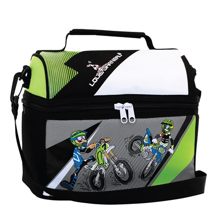 Motocross Dome Lunch Box