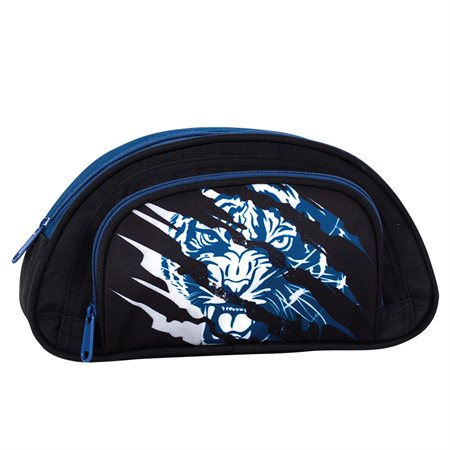 Tiger Half-Moon Pencil Case