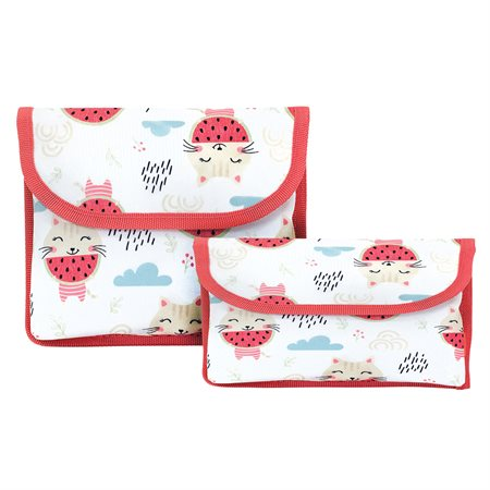 Snack And Sandwich Pouch Set