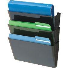 Classeurs muraux EZ Link® DocuPocket® Ensemble de 3 classeurs lettre