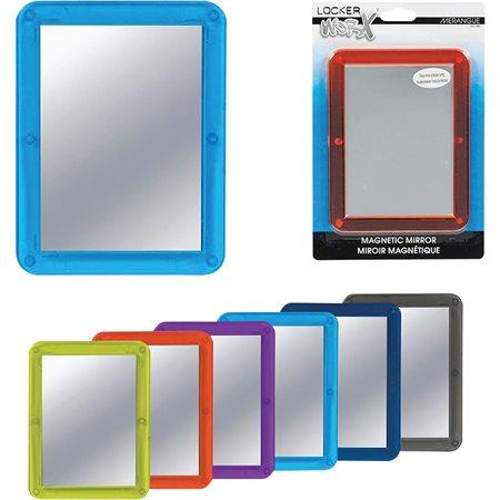 Miroir magnétique pour casier