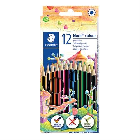 Crayons de couleurs Noris® paquet de 12