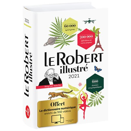 Le petit Robert illustré Dictionary 2020 / 2021