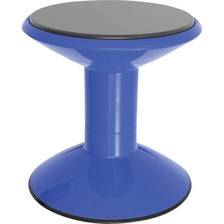 Tabouret berçant bleu