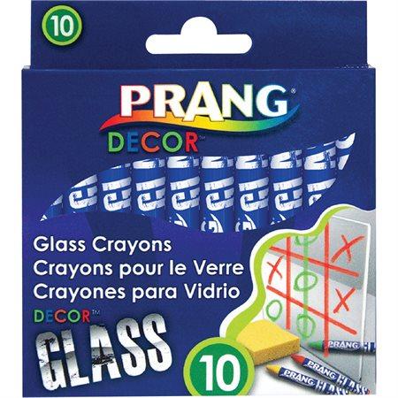 Decor Glass Crayons