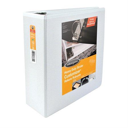Reliure de présentation résistante ENVI 4 po. - 700 feuilles blanc