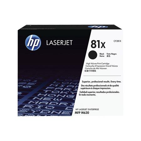 HP 81X High Yield Original LaserJet Toner Cartridge