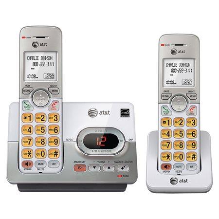 Téléphone sans fil à 2 combinés EL52203