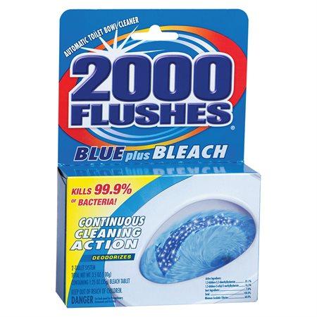 2000 FLUSHES BLUE PLUS  100g