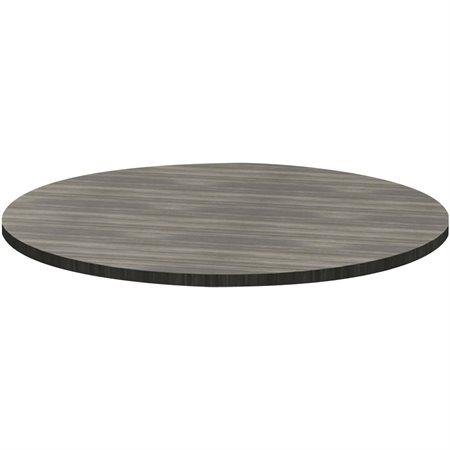 Dessus table rond Innovations 36 po dia. gris crépuscule