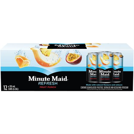 Jus Minute Maid® 355 ml. Punch aux fruits