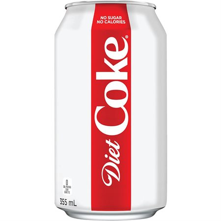 Boissons gazéifiées 222 ml. Coke Diète
