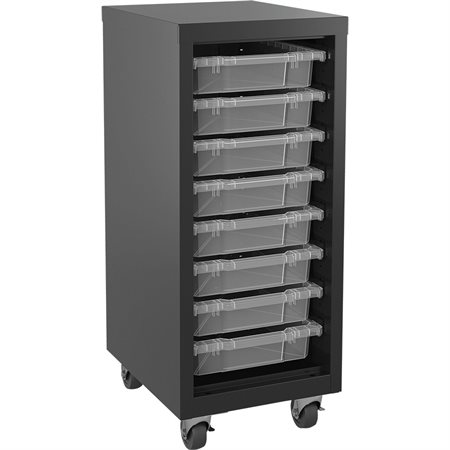 Mobile Storage Cabinets with Bins