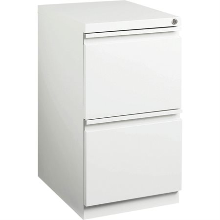 Mobile Pedestal File 15 x 20 x 27-3 / 4 in. H. white