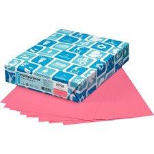 """Papier de couleur à usages multiples EarthChoice® Format lettre - 8-1/2 x 11"""" cerise"""