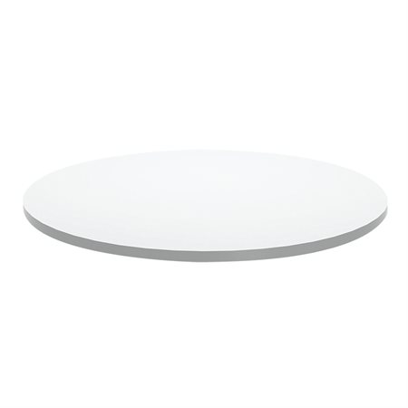 Table Top Roudn - 36 in. diameter white