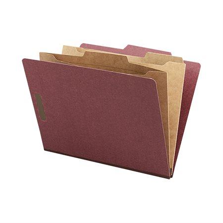 Pocket Divider Classification Folders