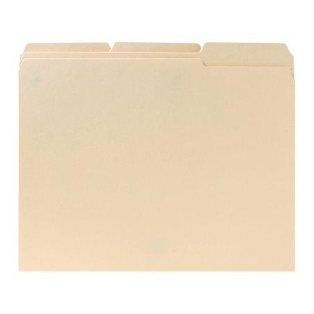 File Folders with Reinforced Tabs