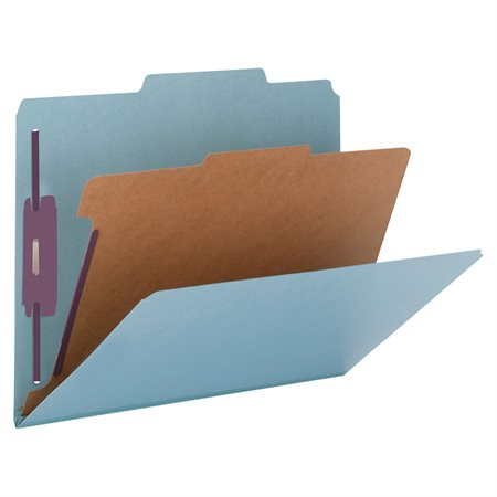 Classification Folders with Fasteners