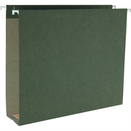 Dossiers suspendus fond carré Capacité de 2 po. lettre