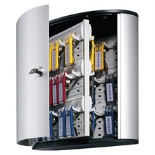 Armoire à clés style contemporain Cabinet 54 clés avec serrure