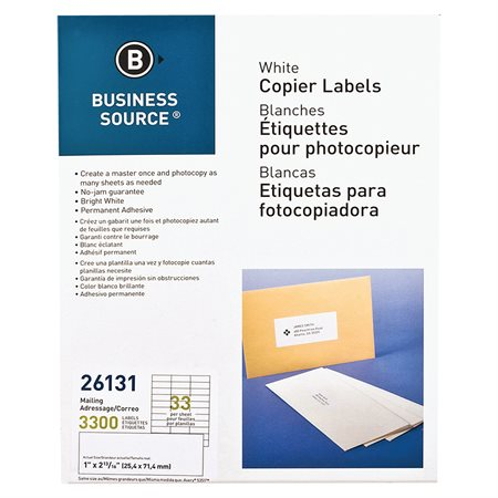 Labels for Copiers