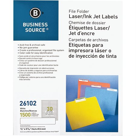Filing Labels