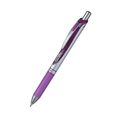 Stylos à bille roulante rétractable EnerGel® Pointe 0,7 mm violet