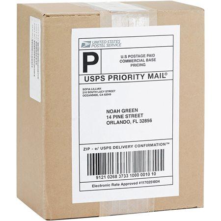 Étiquettes d'adresse premium