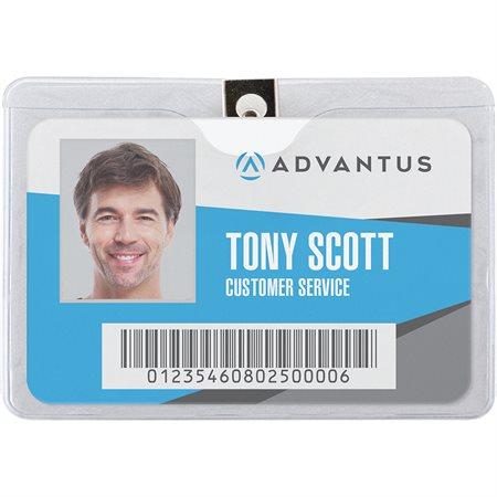 Porte-carte identification