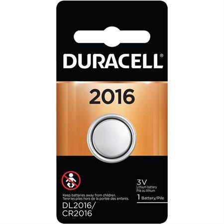 Piles pour appareils spécialisés 3 V DL2016