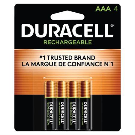 Piles préchargées rechargeables NiMH AAA