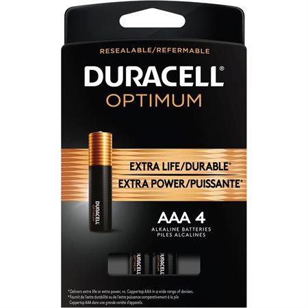 Alkaline Optimum Batteries