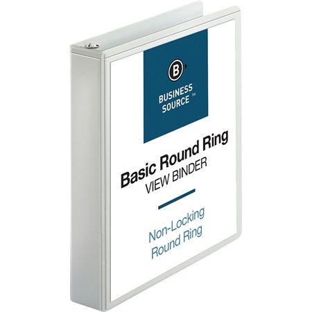 Presentation Round Ring View Binder