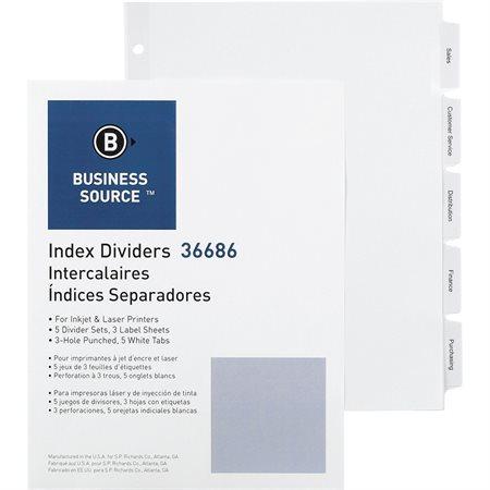Printable Divider