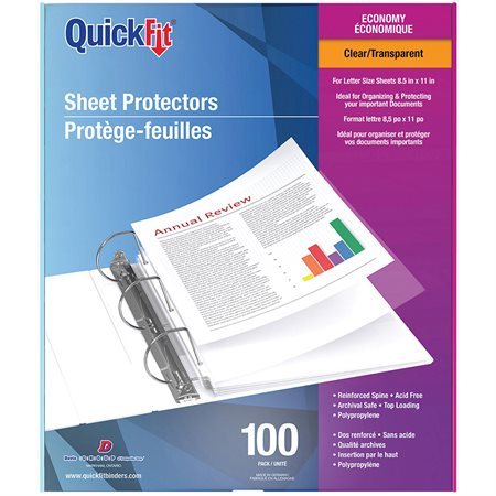 Economy Weight Sheet Protectors