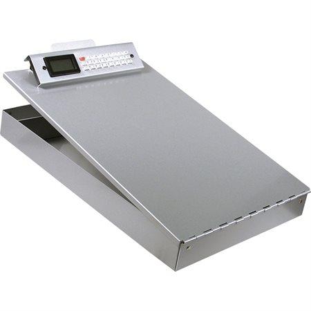Écritoire en aluminium Redi-Rite  avec calculatrice