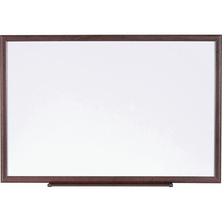 Tableaux effaçables à sec avec cadre en bois 24 x 36 po