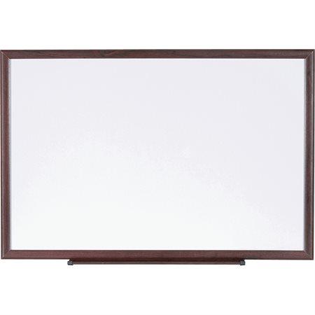 Tableaux effaçables à sec avec cadre en bois 36 x 48 po