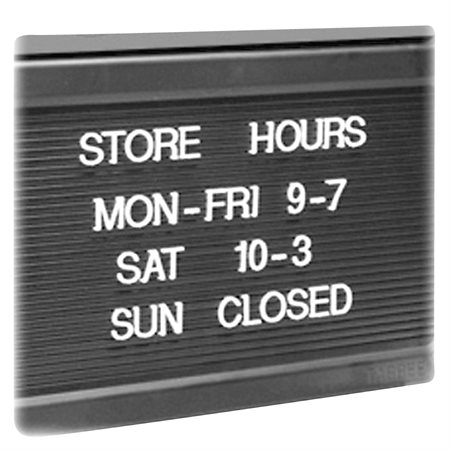 Tableau d'affichage ouvert / fermé