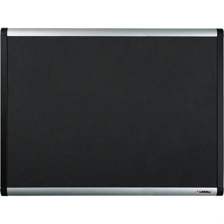 Tableaux d'affichage recouverts de tissu à mailles noires