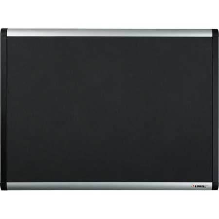 Black Mesh Fabric Covered Bulletin Boards