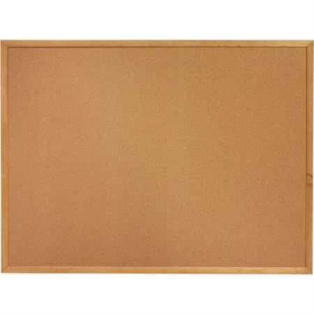 Tableaux de liège Cadre de chêne 24 x 36 po
