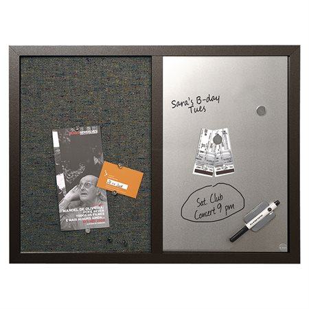 Combo Dry Erase and Fabric Boards