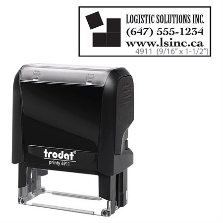 Printy Self-Inking Custom Stamp with Online Voucher